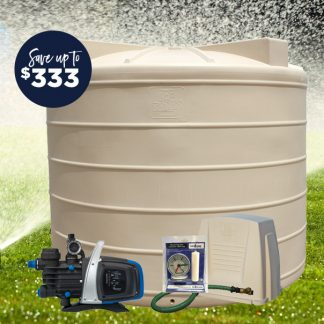 10000L tank pump package