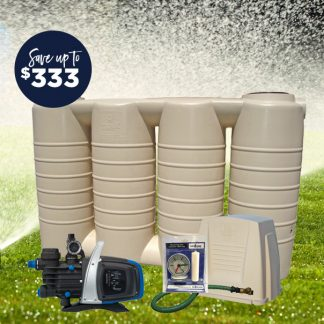 2500L slim tank pump package