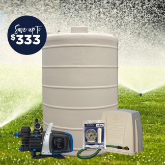 3000L tank pump package