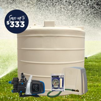 5000L mid tank pump package