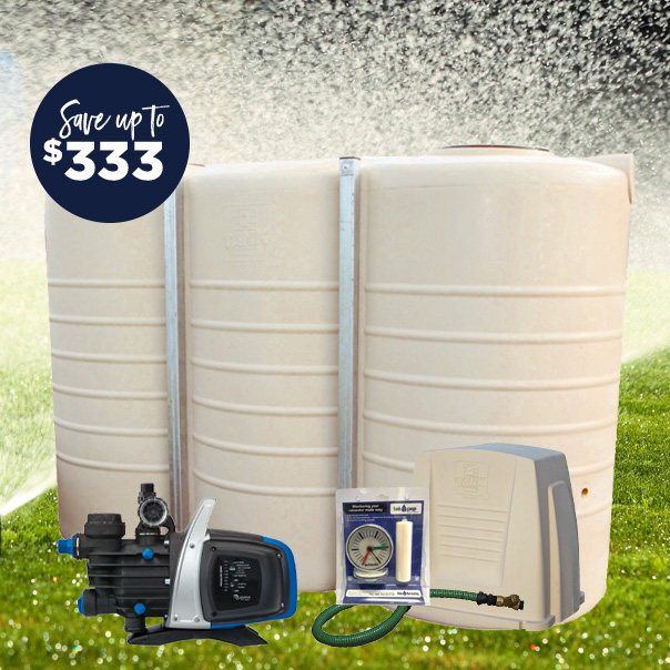 5000L slim tank pump package