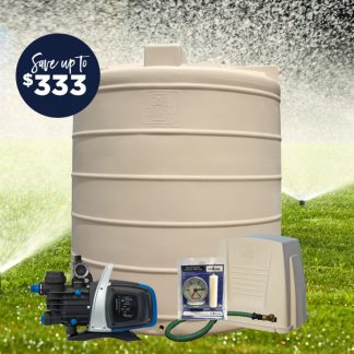 5000L tank pump package