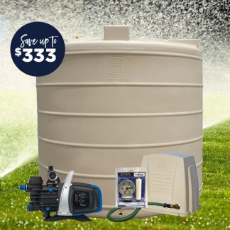 7500L tank pump package