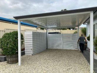 4000 Litre ThinTank carport